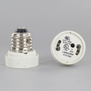 E-26 to GU24 Socket Reducer - Locking