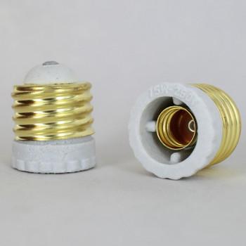E-26 to E-12 Porcelain Socket Reducer