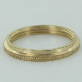 Unfinished Brass Ring for Uno Threaded Sockets