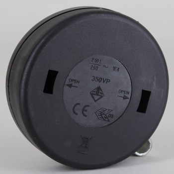 Black ENEC / CE / EAC Approved Foot Switch