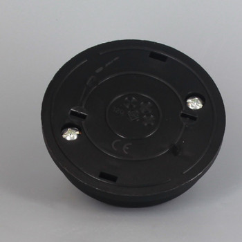 Thermoplastic Resin Foot Switch with Screw Type wire terminal connection - Black