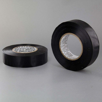 3/4in. Wide Black Thermoplastic PVC insulating tape Flame Retardant, UL Listed  - 60ft Long Roll