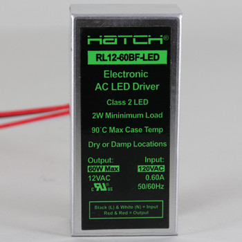 15/30/60 WATTS AC RS12-60BF-LED Driver