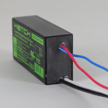 10W Max, 12 VDC Out - 120 VAC In Constant Voltage LED Drivers