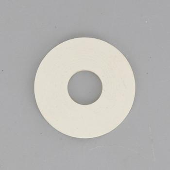 1-1/2in. White Rubber Washer with 1/8ips. Slip Through Hole