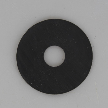 1-1/4in. Black Rubber Washer with 1/8ips. Slip Through Hole