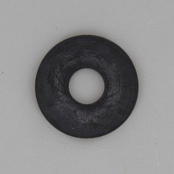 1-1/2in. Black Rubber Washer with 1/8ips. Slip Through Hole