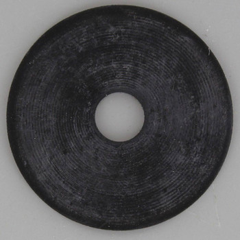 2in. Black Rubber Washer with 1/8ips. Slip Through Hole
