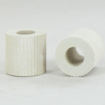 3/4in. White Rubber Bottle Adapter with 1/8ips. Slip Through Hole