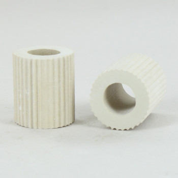5/8in. White Rubber Bottle Adapter with 1/8ips. Slip Through Hole