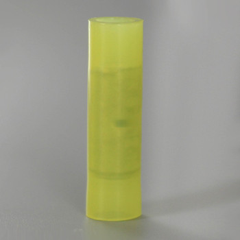 12-10 AWG Yellow Nylon Butt Splice Connector