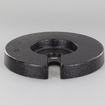 4-1/2in. Cast Iron Weight with 9/16 Slip Through Center Hole