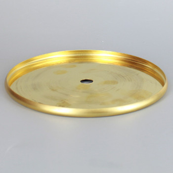 4-1/2in. Stamped Brass Check Ring - Unfinished Brass