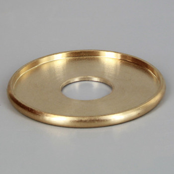 1-3/8in. x 1/4ips Turned Brass Check Ring
