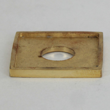 1/2in. Square Turned Brass Check Ring