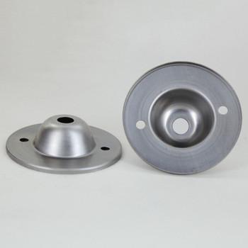Steel Stamped Flange with 1/8ips Slip (7/16in) diameter center hole.