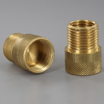Unfinished Brass 3/4in. Extension with 3/8ips.