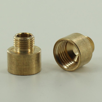 1/8ips Male X 1/4ips Female Unfinished Brass Straight Nozzle