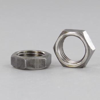 1/4ips. Unfinished Steel Heavy Duty Hex Head Nut