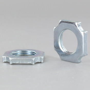 3/8ips. Unfinished Steel Square Electrical Box Nut