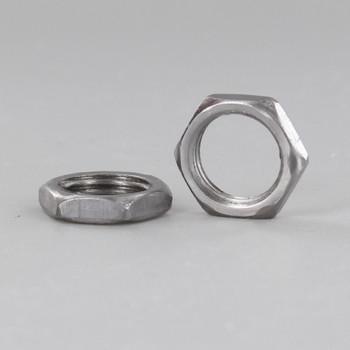 1/4ips. Unfinished Steel Hex Head Nut