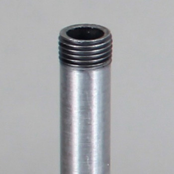 12in Long X 1/8ips (3/8in OD) Male Threaded Unfinished Aluminum Pipe
