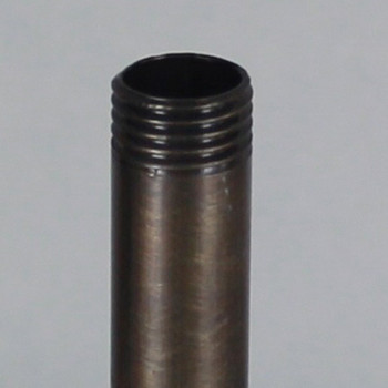 8in. Antique Brass Finish Pipe with 1/4ips. Thread