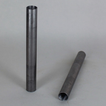 10in. Unfinished Steel Pipe with 1/4ips. Female Thread