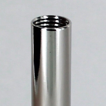 10in. Polished Nickel Finish Pipe with 1/4ips. Female Thread