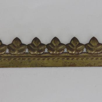 1in Height Leaf Filigree Brass Banding