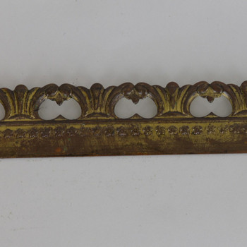 1in Height  Wave Filigree Brass Banding