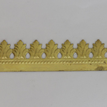 30mm (1.18in) Height Ornamental Filigree Brass Banding