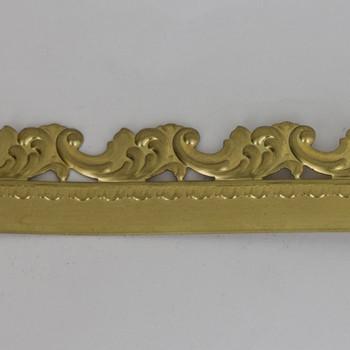 1in Height Swirled Filigree Brass Banding
