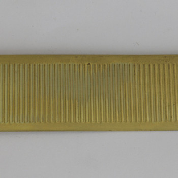 1.57in Height Simple Brass Banding