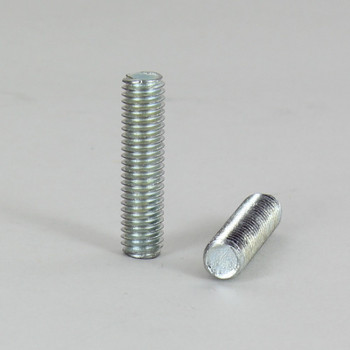 24in. Unfinished Steel 1/4-27 Solid Running Thread