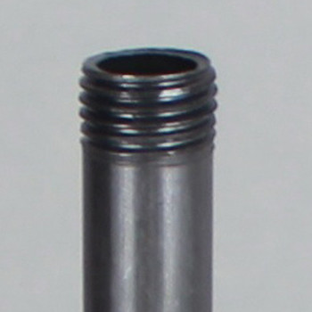 10in. Long 1/4ips (1/2in O.D) Unfinished Steel Round Hollow Pipe
