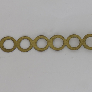 16mm (0.63in) Height Round Circle Brass Banding16mm (0.63in) Height Round Circle Brass Banding