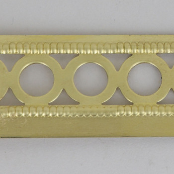 30mm (1.18in) Height Round Circle Brass Banding with Border