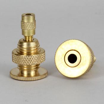 Unfinished Brass 1/4ips Threaded Fisture Holder  Suspension System Ceiling Gripper