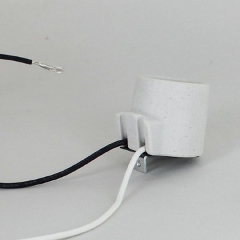 Leviton - E-26 Porcelain  Angle Socket with 9in. Leads