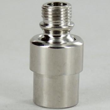 1/8ips Threaded Modern Adjustable Swivel - Polished Nickel Finish