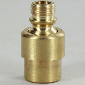 1/8ips Theaded Modern Adjustable Swivel - Unfinished Brass
