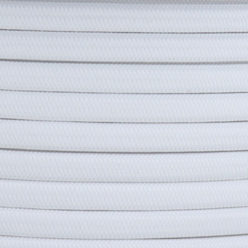 16/2 White SPT-2 Cloth Corvered Overbraid Wire