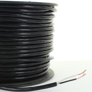 18/2 SVT Black 105 Degree Two Conductor Service Wire