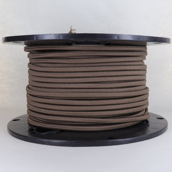 16/2 Brown SPT-2 Cloth Corvered Overbraid Wire