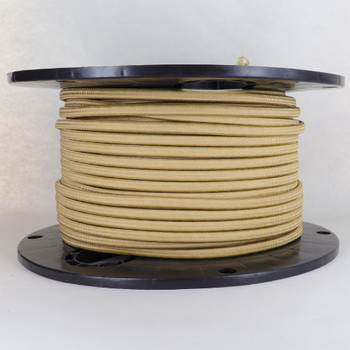 16/2 Gold SPT-2 Cloth Corvered Overbraid Wire