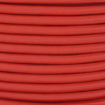 18/2 SVT-B Burnt Orange Nylon Fabric Cloth Covered Pendant and Table Lamp Wire