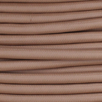 18/2 SVT-B Hazelnut Nylon Fabric Cloth Covered Pendant and Table Lamp Wire