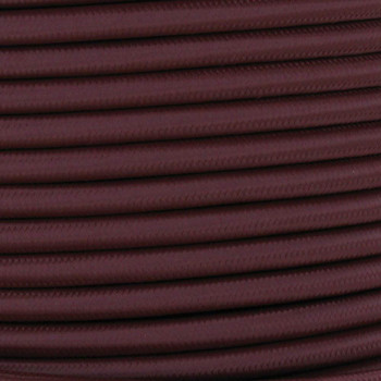 18/2 SVT-B Burgundy/Wine Nylon Fabric Cloth Covered Pendant and Table Lamp Wire