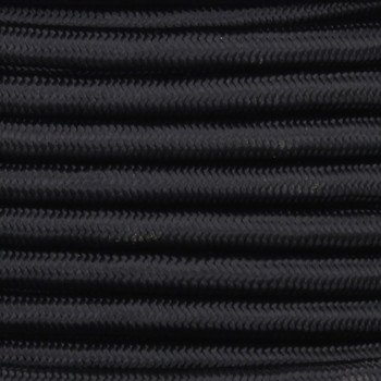 18/3 SVT-B Black Nylon Fabric Cloth Covered Pendant and Table Lamp Wire